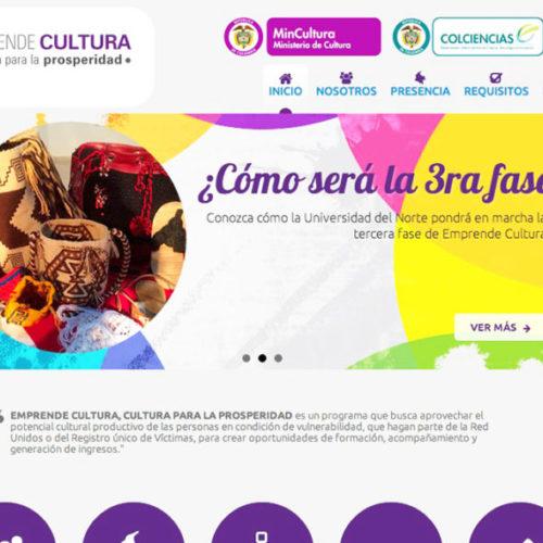 Emprendecultura - Emprende Cultura Pagina